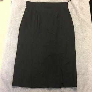 Dior uniform skirt. Black. Size 8 USA.